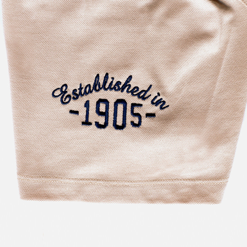 Q1905 Heren Polo Willemstad - Zacht taupe