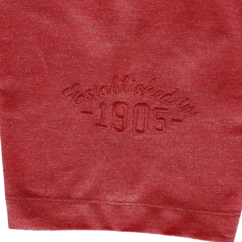 Q1905 Men's Polo Willemstad - Deep red