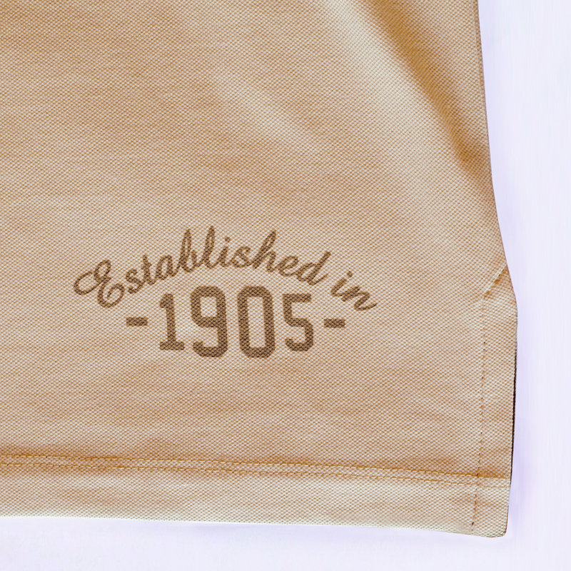 Q1905 Heren Polo Bloemendaal - Zacht taupe