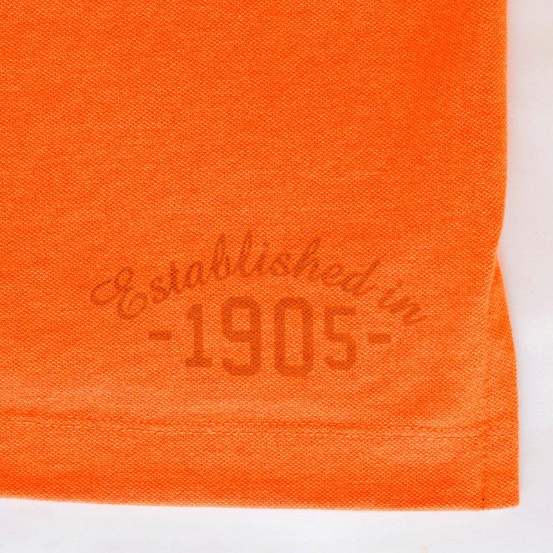 Q1905 Heren Polo Bloemendaal - NL oranje