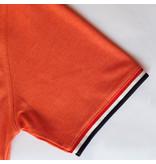 Q1905 Heren Polo Bloemendaal - Retro oranje