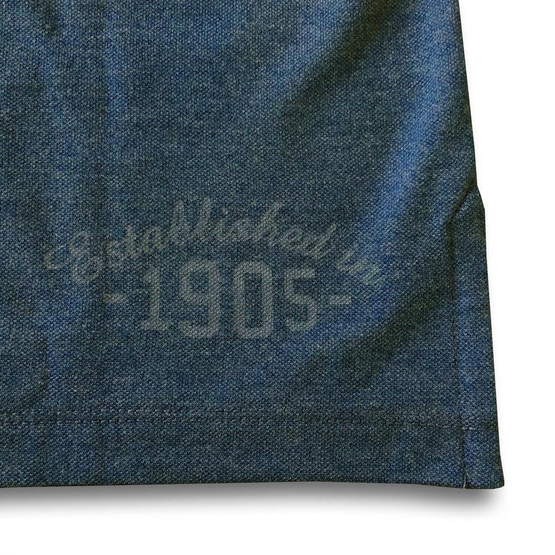 Q1905 Heren Polo Bloemendaal - Donker Denimblauw