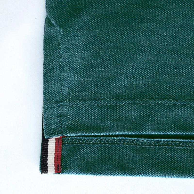 Q1905 Heren Polo Bloemendaal - Zeegroen