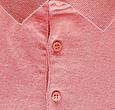Q1905 Heren Polo Zoutelande - Oud roze