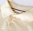 Q1905 Men's Polo Zoutelande - Light beige