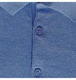 Q1905 Men's Polo Zoutelande - Middle blue