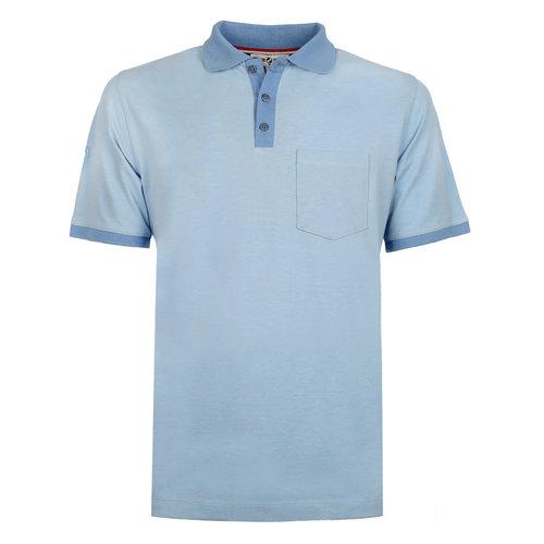 Heren Polo Bruinisse - Lichtblauw