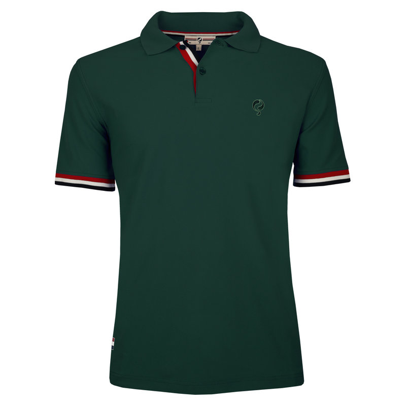 Q1905 Heren Polo Matchplay - Donkergroen