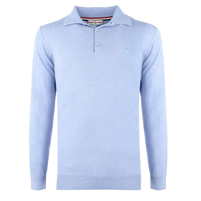Q1905 Men's Pullover Lunteren - Light blue