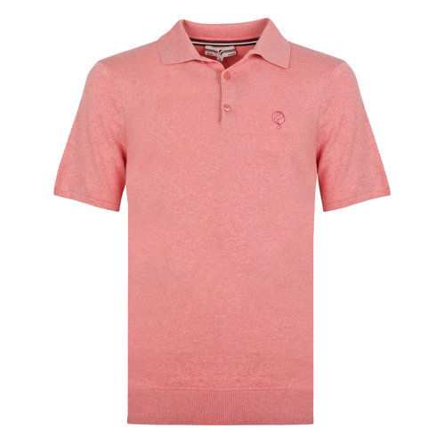 Men's Polo Zoutelande - Old pink