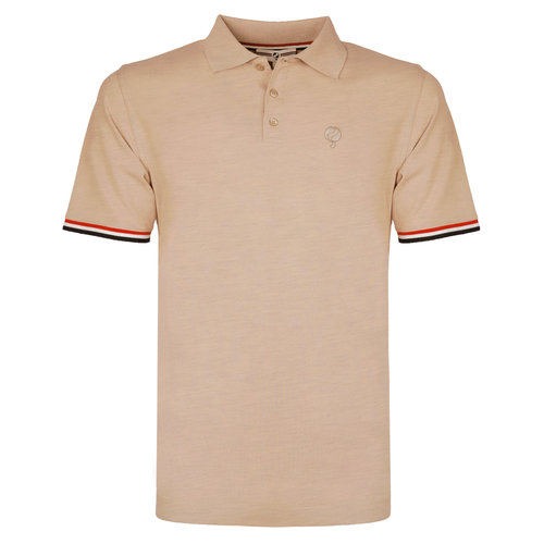 Men's Polo Bloemendaal - Soft taupe