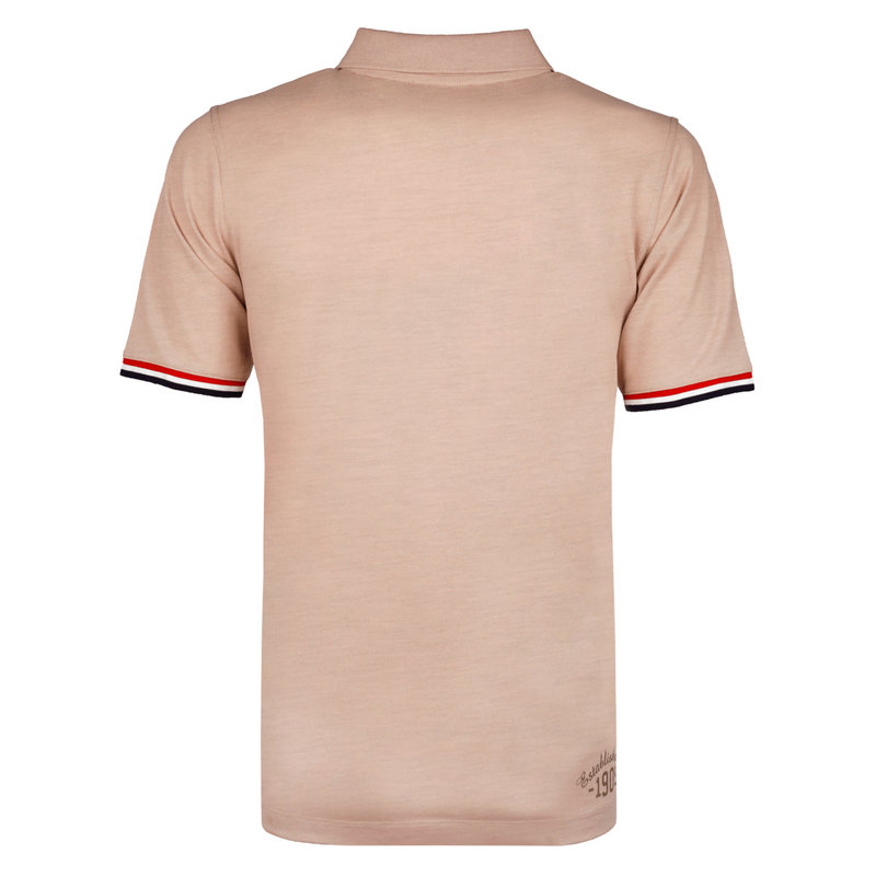 Q1905 Men's Polo Bloemendaal - Soft taupe