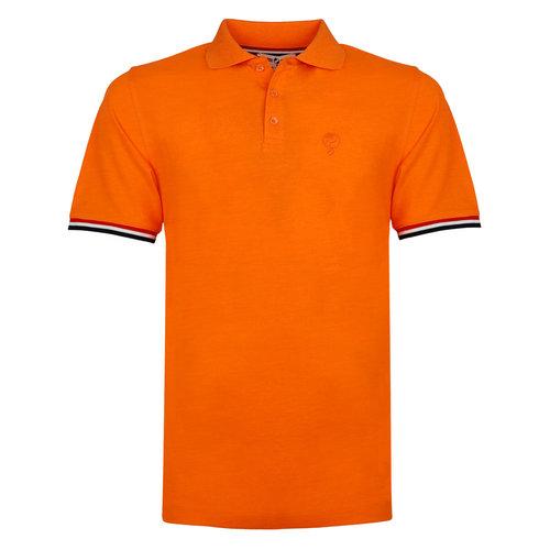 Heren Polo Bloemendaal - NL oranje
