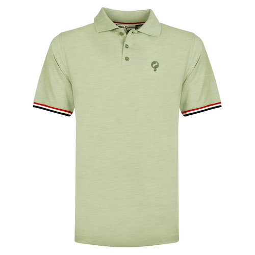 Men's Polo Bloemendaal - Light Grey-green