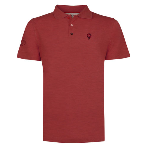 Men's Polo Willemstad - Deep red