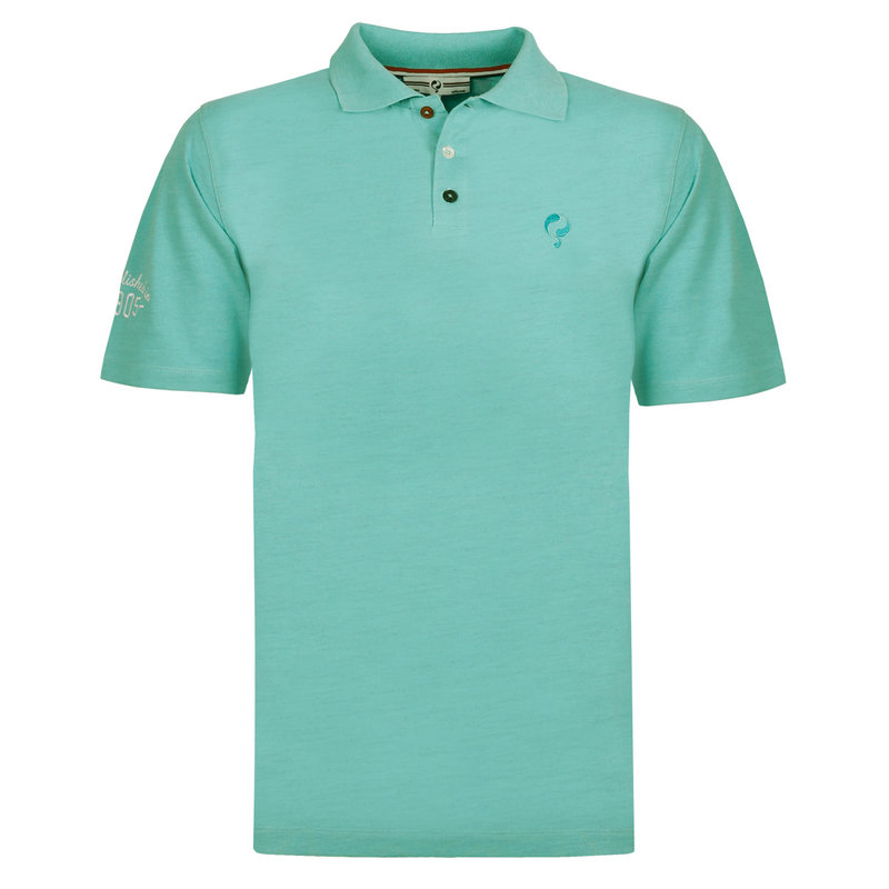Q1905 Men's Polo Willemstad - Aqua