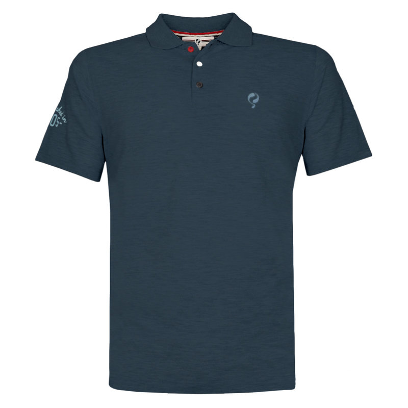 Q1905 Men's Polo Willemstad - Dark Denim blue
