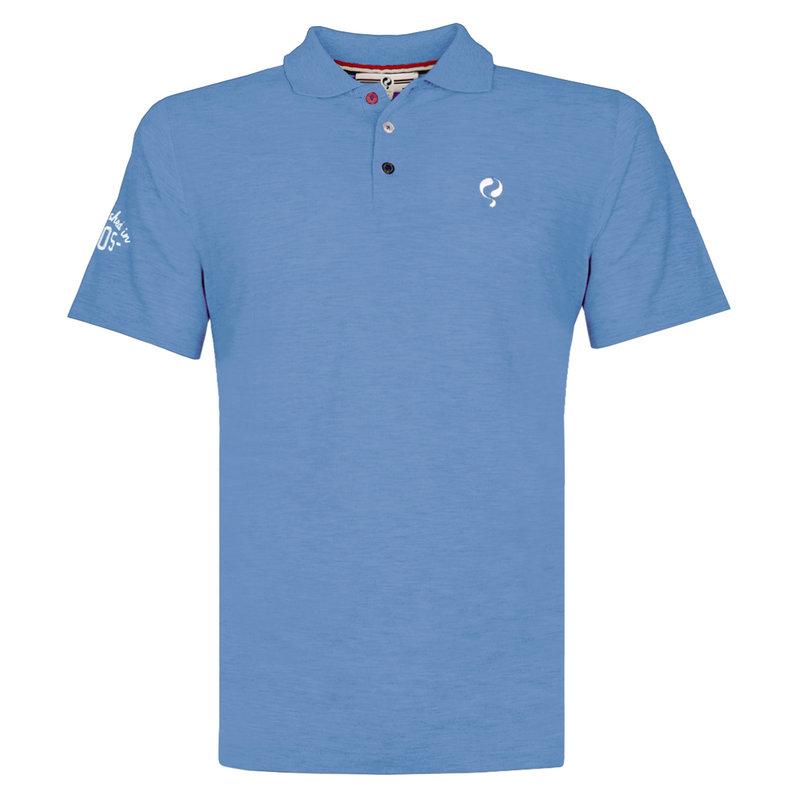 Q1905 Men's Polo Willemstad - Light Denim blue