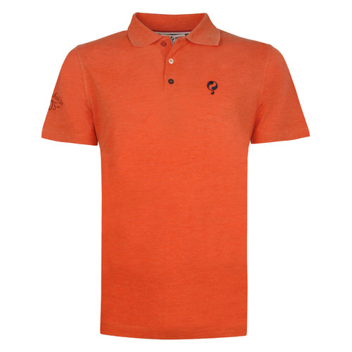 Heren Polo Willemstad - Retro oranje