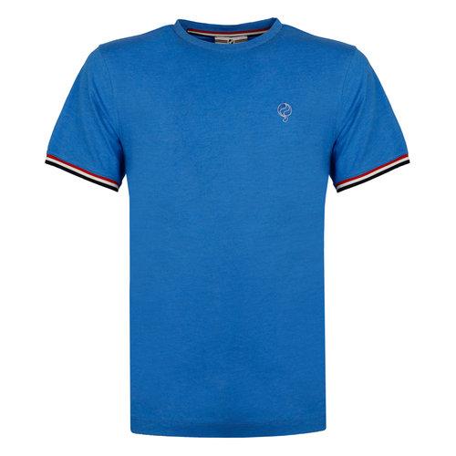 Heren T-shirt Katwijk - Koningsblauw