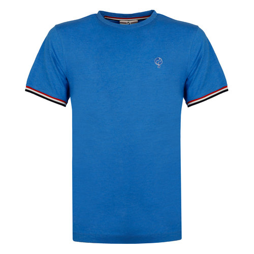 Men's T-shirt Katwijk - Royal blue