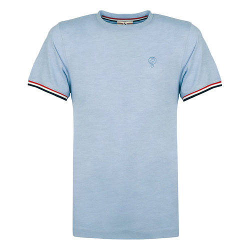 Men's T-shirt Katwijk - Light blue