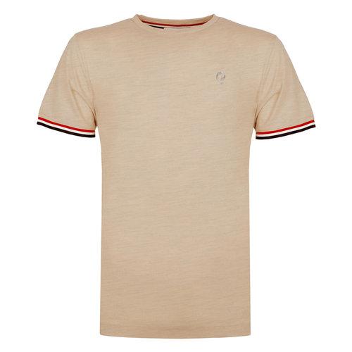 Heren T-shirt Katwijk - Zacht Taupe