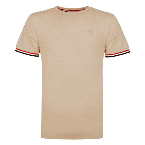 Men's T-shirt Katwijk - Soft Taupe
