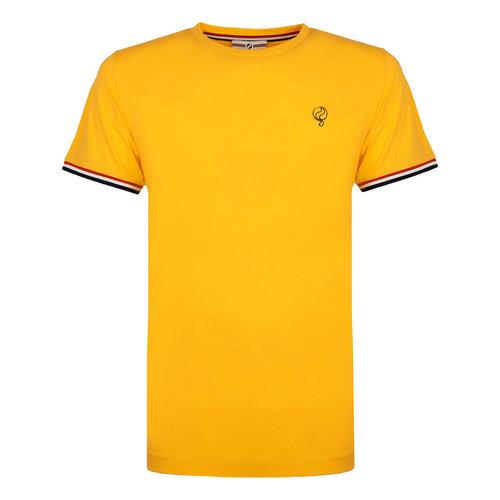 Heren T-shirt Katwijk - Geel