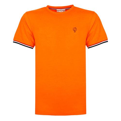 Heren T-shirt Katwijk - NL Oranje