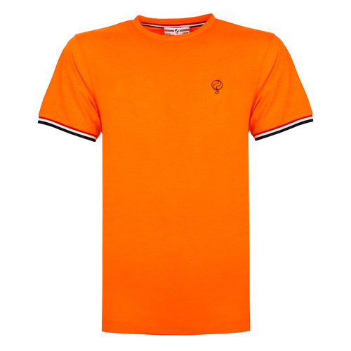 Men's T-shirt Katwijk - Dutch orange