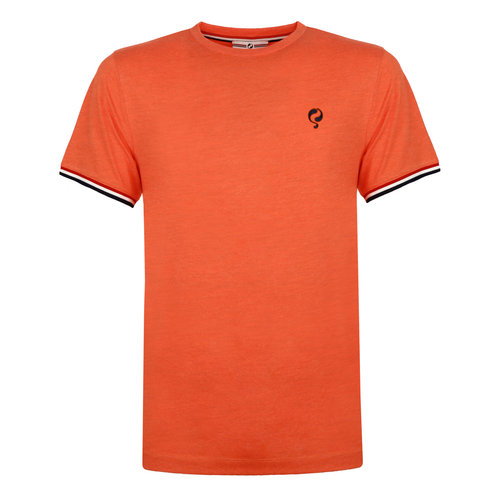 Heren T-shirt Katwijk - Retro Oranje