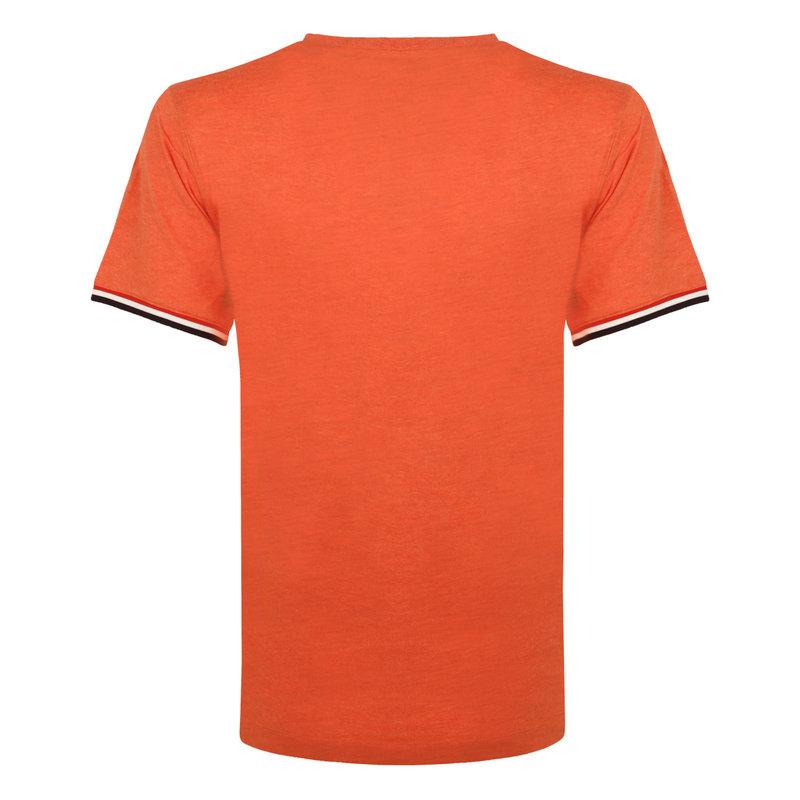 Q1905 Men's T-shirt Katwijk - Retro orange
