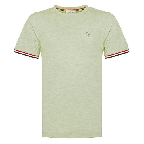 Heren T-shirt Katwijk - Licht grijsgroen