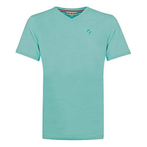 Heren T-shirt Zandvoort - Aqua