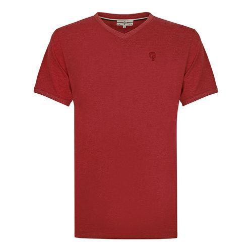 Heren T-shirt Zandvoort - Diep rood