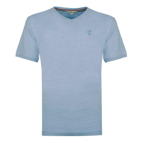 Heren T-shirt Zandvoort - Lichtblauw