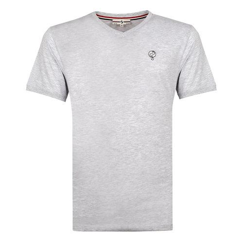 Heren T-shirt Zandvoort - Lichtgrijs