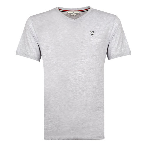 Mens's T-shirt Zandvoort - Light grey