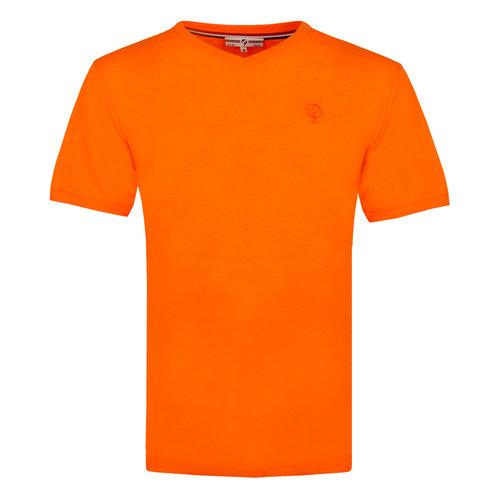 Heren T-shirt Zandvoort - NL oranje