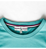 Q1905 Heren T-shirt Katwijk - Aqua