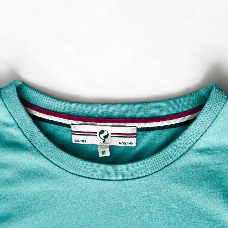 Q1905 Men's T-shirt Katwijk - Aqua