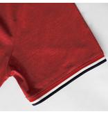 Q1905 Men's T-shirt Katwijk - Deep red