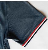 Q1905 Men's T-shirt Katwijk - Dark Denim blue
