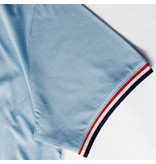 Q1905 Heren T-shirt Katwijk - Lichtblauw