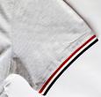 Q1905 Heren T-shirt Katwijk - Lichtgrijs