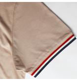 Q1905 Men's T-shirt Katwijk - Soft Taupe
