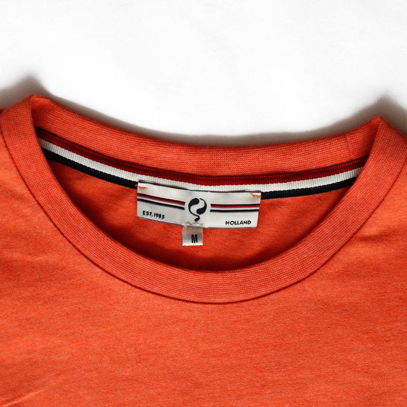 Q1905 Heren T-shirt Katwijk - Retro Oranje