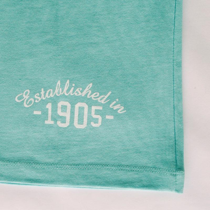 Q1905 Heren T-shirt Zandvoort - Aqua