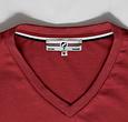 Q1905 Heren T-shirt Zandvoort - Diep rood